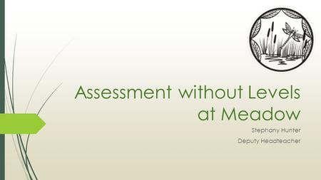 Assessment without Levels at Meadow Stephany Hunter Deputy Headteacher.
