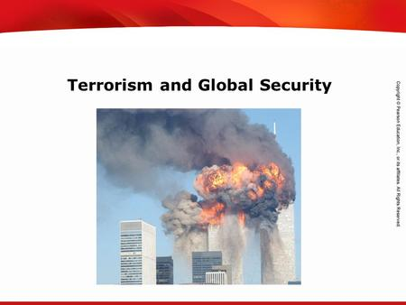 TEKS 8C: Calculate percent composition and empirical and molecular formulas. Terrorism and Global Security.