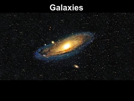 Galaxies. The Universe Early in the history of the universe, hydrogen and helium (and other forms of matter) clumped together by gravitational attraction.