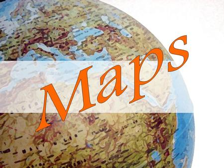 What is a MAP????? A representation of usually a flat surface of the whole or a part of an area.