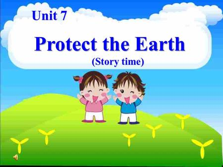 Unit 7 Protect the Earth (Story time). Red-crowned cranes.
