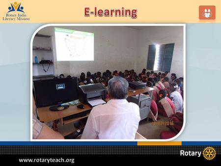 RILM E learning program RILM E learning program is called E-Shiksha E-Shiksha program aims at improving the quality of learning through the use of curriculum.
