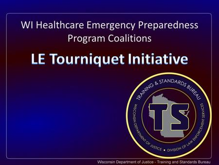 WI Healthcare Emergency Preparedness Program Coalitions.
