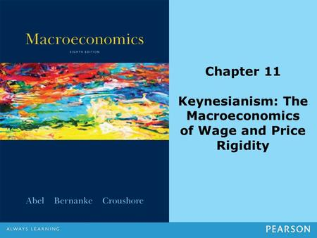 Chapter 11 Keynesianism: The Macroeconomics of Wage and Price Rigidity.