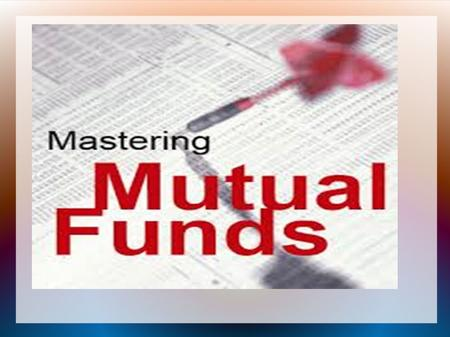 INDEX <strong>Mutual</strong> <strong>fund</strong> Flow Chart Myths of <strong>mutual</strong> <strong>fund</strong> History of <strong>mutual</strong> <strong>fund</strong> Types of <strong>mutual</strong> <strong>fund</strong> Organization of <strong>mutual</strong> <strong>fund</strong> SEBI Guidelines Advantage of.