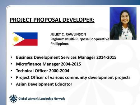 Business Development Services Manager 2014-2015 Microfinance Manager 2004-2015 Technical Officer 2000-2004 Project Officer of various community development.