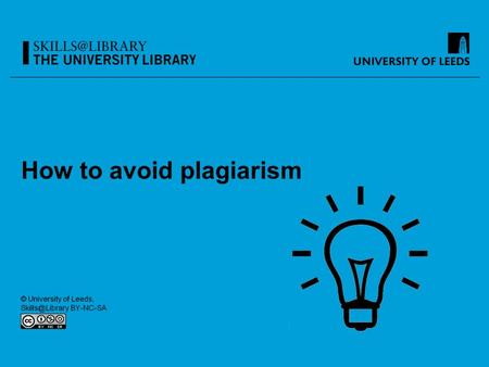 How to avoid plagiarism. Format of this session A. What is plagiarism?: Can you recognise it? (Activity 1, 2 and 3) B. What is paraphrasing?: How do you.