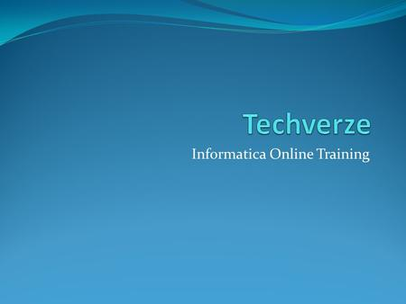 Informatica Online Training. Introduction to Informatica Informatica is an ETL tool, leverages the lean integration model. Informatica works on a Service.
