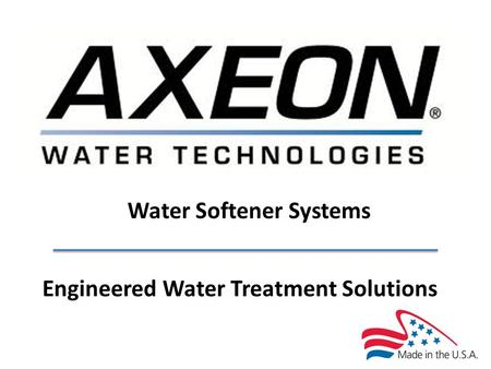 Water Softener Systems Engineered Water Treatment Solutions.