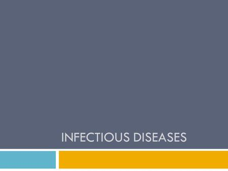 INFECTIOUS DISEASES. Transmission of diseases  Vector borne transmission:  Spread by insect or other animal  Contact transmission:  Direct vs indirect.