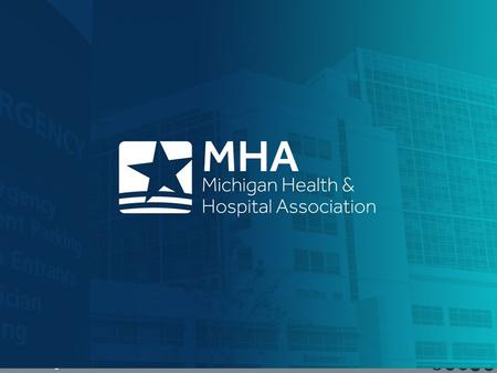 Www.mha.org Follow the MHA on social media. www.mha.org Follow the MHA on social media How Michigan Hospitals Contribute to the State's Healthcare Budget.