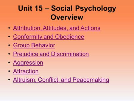 social psychology theories the impact of attitudes in society Social psychology: social psychology early research based on statistical analyses of social attitudes revealed correlations with such psychology: impact and.