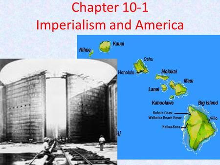 Was the united states justified in their imperialistic policies of the late 1800s and early 1900s