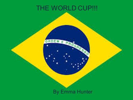 THE WORLD CUP!!! By Emma Hunter. Facts about the World cup!!! Approximately 53 countries want to take part in the world cup but only 32 of them are selected.