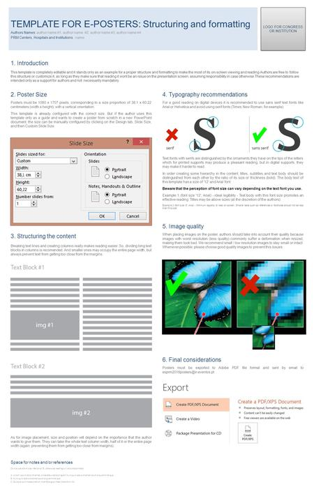 1. Introduction This template is completely editable and it stands only as an example for a proper structure and formatting to make the most of its on-screen.