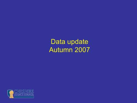 Data update Autumn 2007. Overview About the new targets progress attainment Raise On Line (ROL) data reports and analyses historic results future estimates.