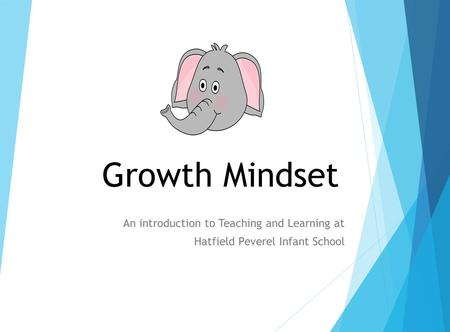 Growth Mindset An introduction to Teaching and Learning at Hatfield Peverel Infant School.