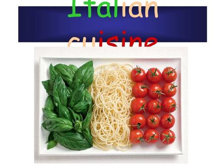 Italian cuisine. Main Features Italian cuisine has developed through centuries of social and political changes, with roots as far back as the 4th century.