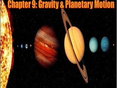 Kepler's Three Laws: In the early 1600's, Johannes Kepler proposed three laws of planetary motion. Kepler was able to summarize the carefully collected.