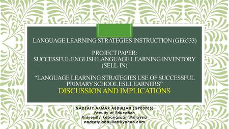 essays english language learner programs Effective programs for english language office of english language learning & migrant education to english reading and writing proficiency.