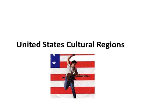United States Cultural Regions. New England The six states of New England are Maine, New Hampshire, Vermont, Rhode Island, Massachusetts and Connecticut.