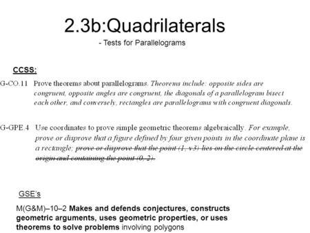 6-2 Vocabulary Support congruent angles diagonal consecutive ...