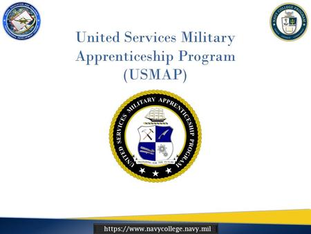 Https://www.navycollege.navy.mil United Services Military Apprenticeship Program (USMAP)