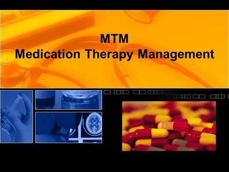 MTM Medication Therapy Management. What is Medication Therapy Management? From 1996 to 2006, the number of prescription medications dispensed increased.