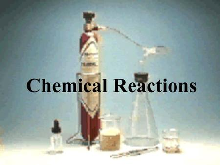 Chemical reactions equations worksheet