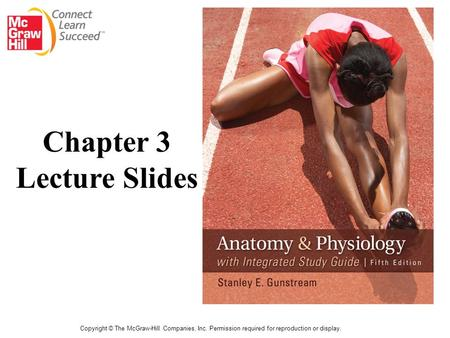 Copyright © The McGraw-Hill Companies, Inc. Permission required for reproduction or display. Chapter 3 Lecture Slides.