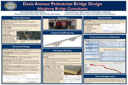 . Client: City of Pittsburgh, Brighton Heights Community Objectives : Develop a pedestrian/bicycle bridge reconnecting Brighton Heights to Riverview park.