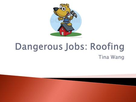 Tina Wang.  Roofers repair and reroof  Some specialize in waterproofing roofs  Some work only in summer.