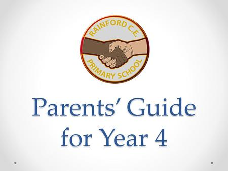 Parents' Guide for Year 4. School website
