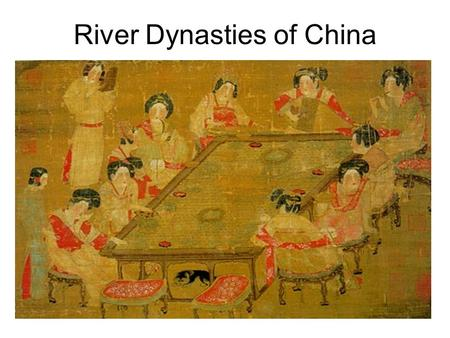 River Dynasties of China. P olitics The Xia Dynasty of China (from c. 2100 to c. 1600 BC) is the first dynasty to be described in ancient historical records.