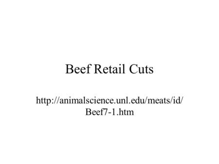 Beef Retail Cuts  Beef7-1.htm.