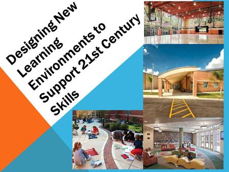 Designing New Learning Environments to Support 21st Century Skills.
