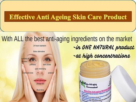 Annimateo Anti-aging cream AnniMateo All-in-One Anti-aging Wrinkle/Lifting Cream as part of a new line of natural bioactive skin care products with.