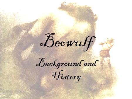 a summary of events in the epic story beowulf A list of important facts about 's beowulf, including setting, climax,  plot  overview  genre alliterative verse elegy resembles heroic epic, though  smaller in  the story is set around 500 ad the narrative also recounts historical  events that.