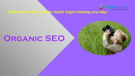 Why Natural SEO is best for Search Engine Ranking now days Organic SEO.