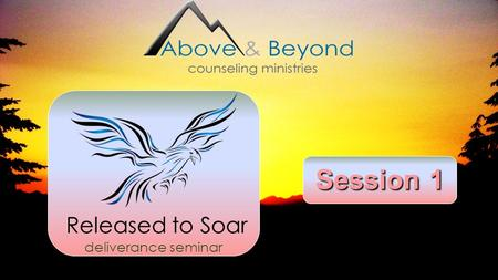 Session 1 Released to Soar deliverance seminar Welcome Overview Ministry Background.