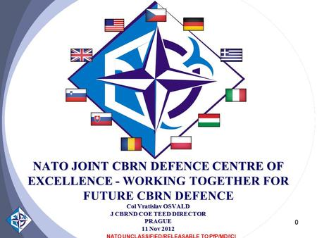 NATO UNCLASSIFIED/RELEASABLE TO PfP/MD/ICI