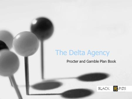 The Delta Agency Procter and Gamble Plan Book BLACK APIDS.