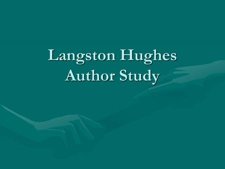 analysis dream deferred langston hughes This student essay consists of approximately 2 pages of analysis of dream  deferred by langston hughes buy and print the dream deferred.