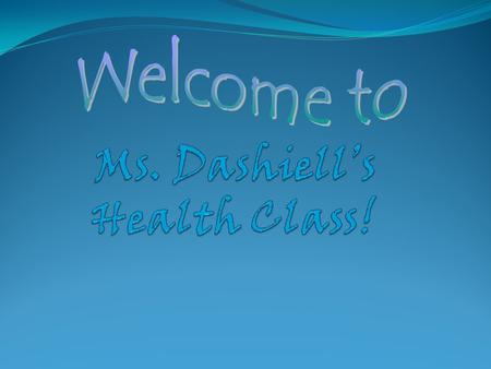 Issues In Health Instructor: Nikki Dashiell    Office: room 710 Off Periods: 3,4 Phone: 720-561-3384.