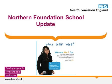 "Northern Foundation School Update. 1. Quality Completed joint Annual Visits to all 12 LEPs in 2015/16 with University of Newcastle Medical School ""Supportive."
