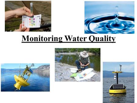 Monitoring Water Quality. Water quality is determined by its use. Governments set the guidelines for water quality based on the following 5 categories: