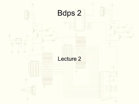 Bdps 2 Lecture 2. Circuits and Ohm's Law For resistive circuits.