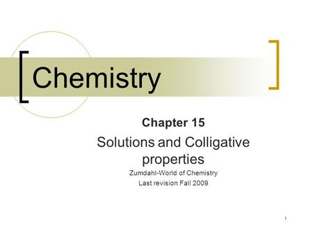 solutions chapter 19
