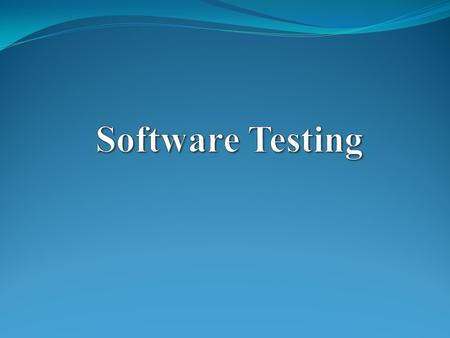 What is a software? Computer Software, or just Software, is the collection of computer programs and related data that provide the instructions telling.