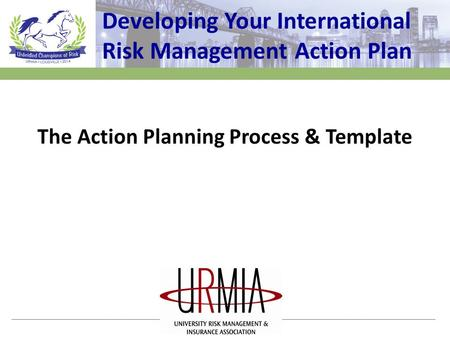 Developing Your International Risk Management Action Plan The